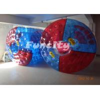 Inflatable 1.0MM Thickness Water Roll Ball PVC TPU For Children Manufactures