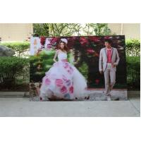 Wholesale OK3D wholesale 3d lenticular printing wedding photos-customized 3d lenticular wedding photo with depth 3d moving effects from china suppliers