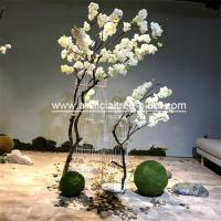 Wholesale Fashion Vase Cherry Artificial Blossom Tree Sakura Flower Patio Decoration from china suppliers