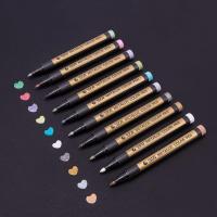 Buy cheap DecoArt water based permanent Metallic markerkey marker Decoink Glass marker product