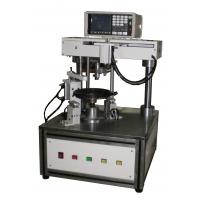 Buy cheap Enameled copper coil winding cooker tray winding Concave IH disk winding machine from wholesalers