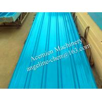 Buy cheap Plastic PVC+ASA/PMMA trapezoid type roofing sheets roofing materials from wholesalers