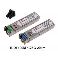 SONET OC - 3 Bidirectional SFP Optical Transceiver155M 20km LC / SC Port Connector Manufactures