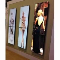 Buy cheap Advertising Program video wall displays System 55 inch Custom for Hotel Shop from wholesalers