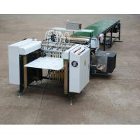 Buy cheap Energy Saving Automatic Gluing Machine Temperature Control WM - 650A Model from wholesalers