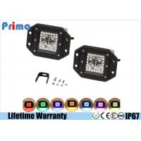 Buy cheap Waterproof 12W Spot LED Work Lights With Remote Controller RGB Flash Strobe Halo Ring Light from wholesalers