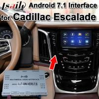 Buy cheap Android 7.1 Car GPS Navigation Box Video Interface for Cadillac CUE System , RAM 2G , Plug&play easy installation from wholesalers