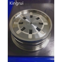 Buy cheap Customized EDM Auto 0.01 Mm Round Mould Components from wholesalers