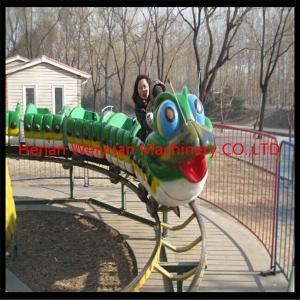 park amusement ride Fruit Worm Roller Coaster Manufactures