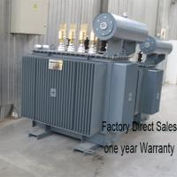 Buy cheap 35KV Power Distribution Electric Oil Immersed Transformer 3 Phase Toroidal Coil Structure from wholesalers