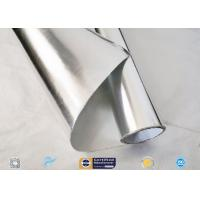 Buy cheap Thermal Insulation Aluminium Foil Singled Side Woven Fiberglass Fabric from wholesalers