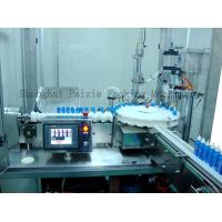 Buy cheap Mosquito Liquid Spray Aerosol Filling Machine And Can Sealing Machine With PLC Control from wholesalers