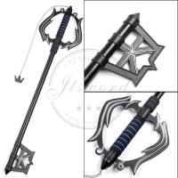 Buy cheap 35 metal video game replica swords kingdom hearts fantasy keyblade sword from wholesalers