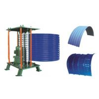 Buy cheap Roof Steel Tile Roll Bending Machine Automatic Curving Radius 500mm from wholesalers