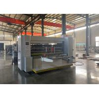 Buy cheap Vacuum Adsoption Automatic Feeder Corrugated Box Rotary Slotter Machine from wholesalers