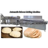 Buy cheap Automatic Arabian Kuboos Making Machine Company|Stainless Steel Pita Bread Production Line from wholesalers