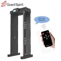 Wholesale 6 / 12 / 18 Zones Full Body Metal Detector Gate For Exhibition Hall Security from china suppliers