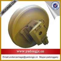 Buy cheap komatsu bulldozer D85a-21undercarriage parts idler roller on sale from wholesalers