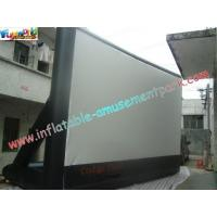 Wholesale Portable Outdoor Inflatable Movie Screen Rental / Movie Theater Screen from china suppliers