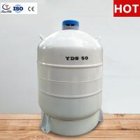 Buy cheap TIANCHI Liquid Nitrogen Tank 50L Stainless Steel Storage Container Price from wholesalers