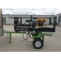 Buy cheap Gasoline 6.5HP Mechanical Wood Splitter , Max Force 22 Ton Hand Log Splitter from wholesalers