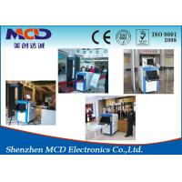 Buy cheap PC MCD-6550 Airport Luggage Scanner 170kg Conveyor Max Loading Top Safety product