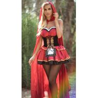 Buy cheap Fairy Tale Costumes Little Red Riding Hood Littl Red Costume for Halloween Party from wholesalers