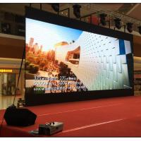 Buy cheap Stage Backdrop Flexible LED Screen High Resolution P3.91 P4.81 AC 220V 50~60Hz product