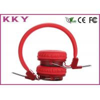 China Red Color Wireless Bluetooth Earphone User-friendly Headphone Wearing Style Headphone on sale