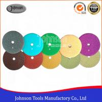 Buy cheap 100 mm Diamond Polishing Pads 5 steps wet polishing pad for stone from wholesalers