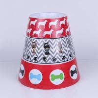 Wholesale high quality melamine dog food bowl, pet products from china suppliers
