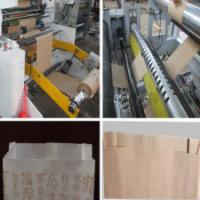 18Kw Bread Paper Bag Making Machine Producing Sharp Bottom Food Bags Manufactures