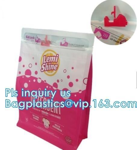 Quality Child-resistant Packaging, Kraft Paper Child Resistant Bag, Opaque Plastic Lockable Medication Bag , Stand Up Ziplock Ba for sale