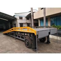 Buy cheap Movable Container Yard Ramp 6 Ton Capacity Blue Red Green Yellow Appearance from wholesalers