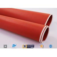 Buy cheap Double Sided Fiberglass Fabric Coated With Silicone Flexible Duct Connector from wholesalers