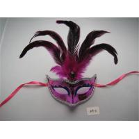 Mardi gras mask lot Venetian masquerade year party wedding costume feather Manufactures