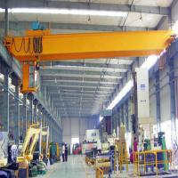 Buy cheap Light Dead Weight Overhead Beam Crane Wire Rope Single Girder Optional Capacity from wholesalers