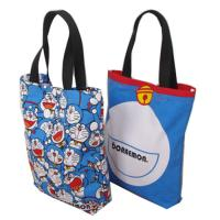 Buy cheap Eco Friendly Cute Doraemon Ladies Tote Bags Cotton Handbags for Womens from wholesalers