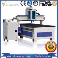 China High precision cnc wood machine for cutting and engraving nonmetal material. TM1325A. THREECNC on sale