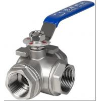 Buy cheap 3 port ball valve from wholesalers