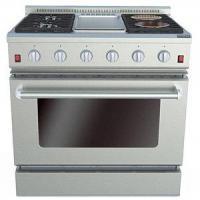 Buy cheap 36 Inches Gas Oven with Griddle & Electric Ceramic Furnaces from wholesalers