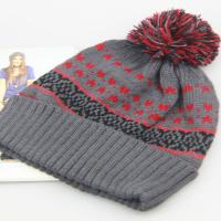 Buy cheap 20*26cm Beanie Hats For Women Hats And Berets With Poms from wholesalers