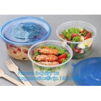 Buy cheap 550ml Microwavable Plastic Disposable Food Packaging Container Rice Bowls For Food,Pp Round disposable cheap high qualit from wholesalers
