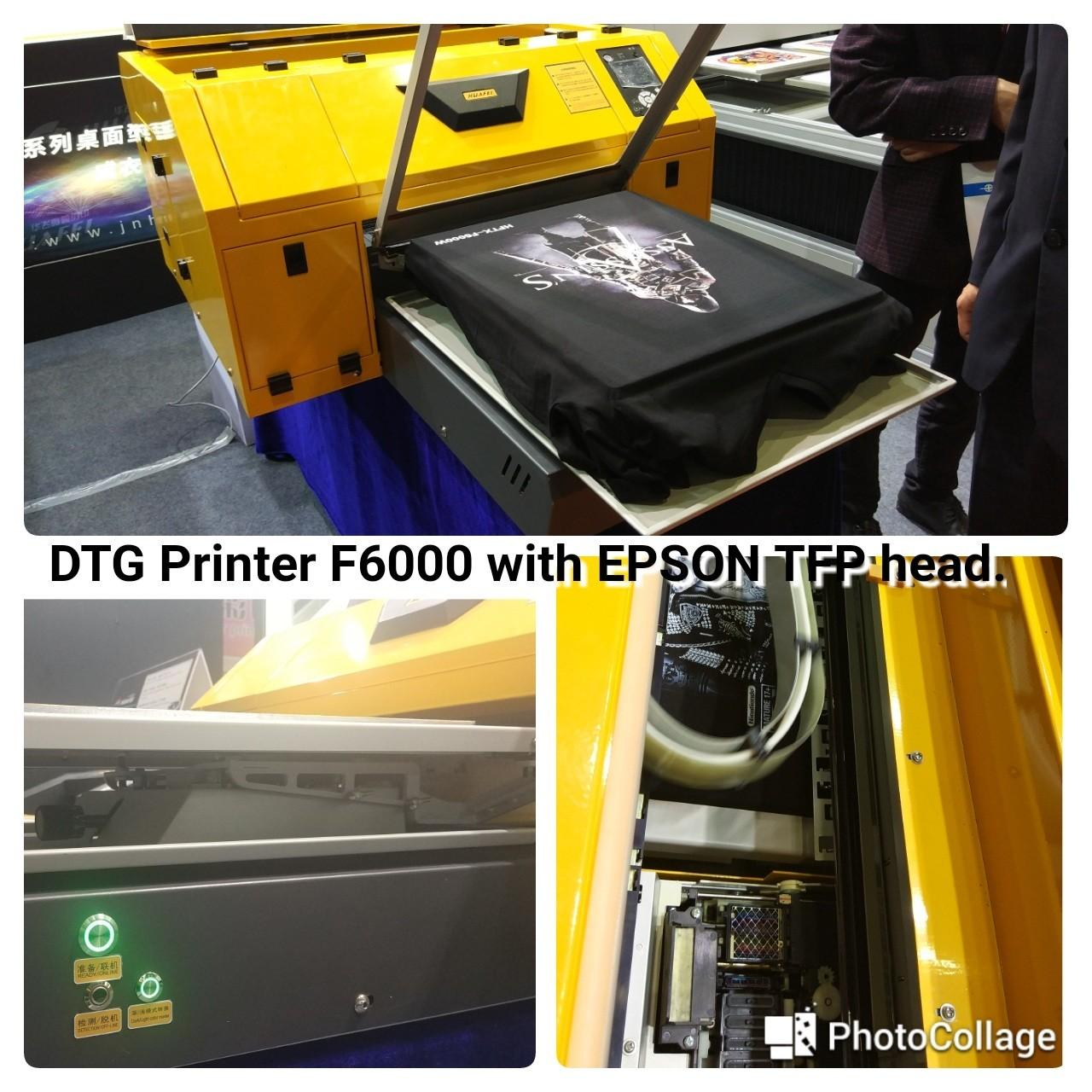 Wholesale Cheap 11 color dtg printer a2 garment t-shirt printer with special price from china suppliers