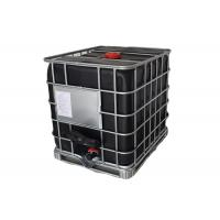 Buy cheap Black Plastic Tote Ibc Tank Container 275 Gallon With Steel Pallet UN Approved from wholesalers