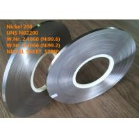 Buy cheap UNS N02200 Commercially Pure Or Low Alloy Nickel Good Magnetostrictive Property from wholesalers