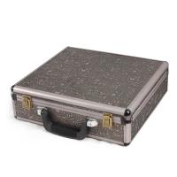 Wholesale Brown Aluminum Tool Case Square Shaped Tool Box Briefcase Waterproof Hard Cases from china suppliers