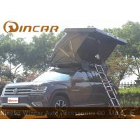 Black Hard Shell Roof Top Tent Hardtop / Vehicle Pop Up Tents With One Side Open & Wholesale Roof Top Tent - 4x4product