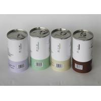 Buy cheap Pantone Paper Tube Packaging For Instant Drink Powder Aluminum EOE from wholesalers