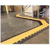 Buy cheap Small Cable Ramp Rubber Floor Cable Protector , Truck Unloading Rubber Cord Cover Cable Speed Ramp from wholesalers